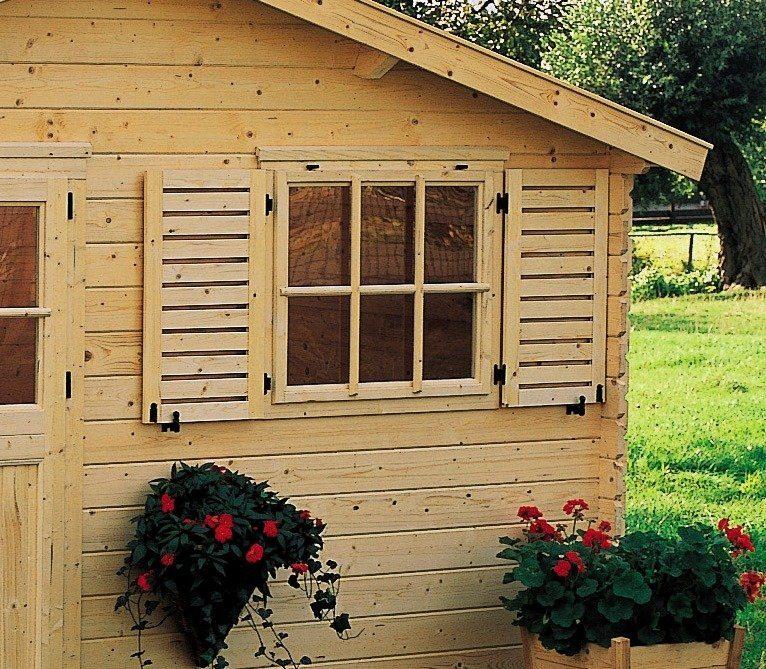 OUTDOOR LIFE PRODUCTS Fensterladen , BxH: 85x90 cm, für Gouderak-Produkte