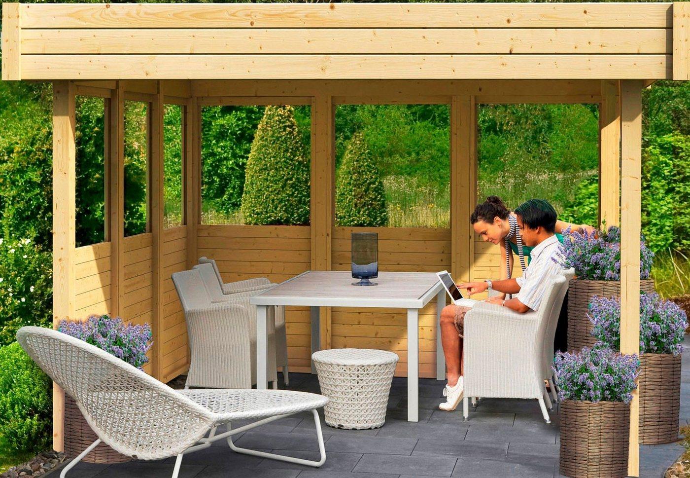 pavillon flachdach preisvergleiche erfahrungsberichte und kauf bei nextag. Black Bedroom Furniture Sets. Home Design Ideas