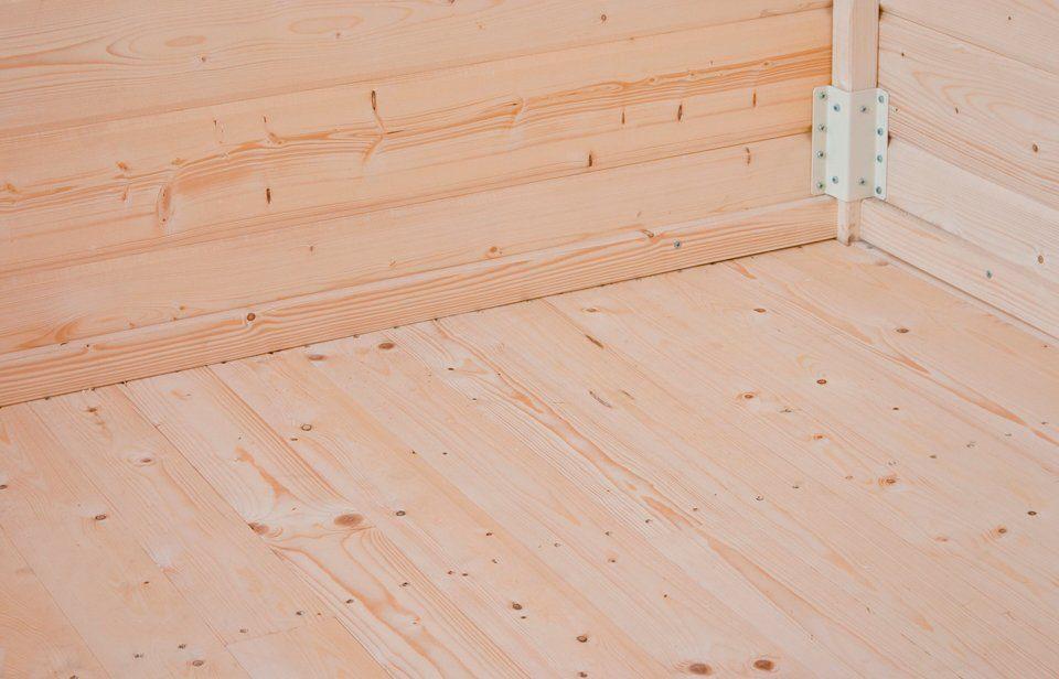 KARIBU Fußboden für Gartenhäuser , BxT: 178x178 cm