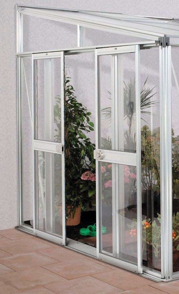 vitavia t r bxh 119x176 cm f r gew chshaus helena silberfarben online kaufen otto. Black Bedroom Furniture Sets. Home Design Ideas
