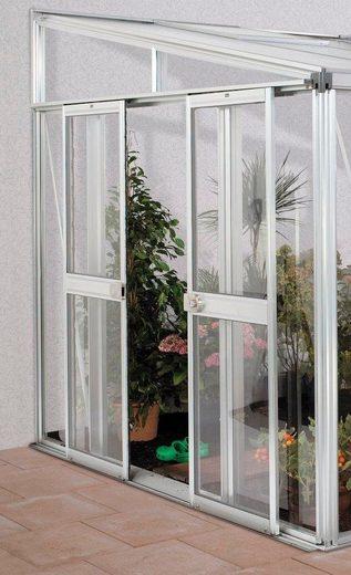 VITAVIA Tür , BxH: 119x176 cm, für Gewächshaus »Helena«, silberfarben