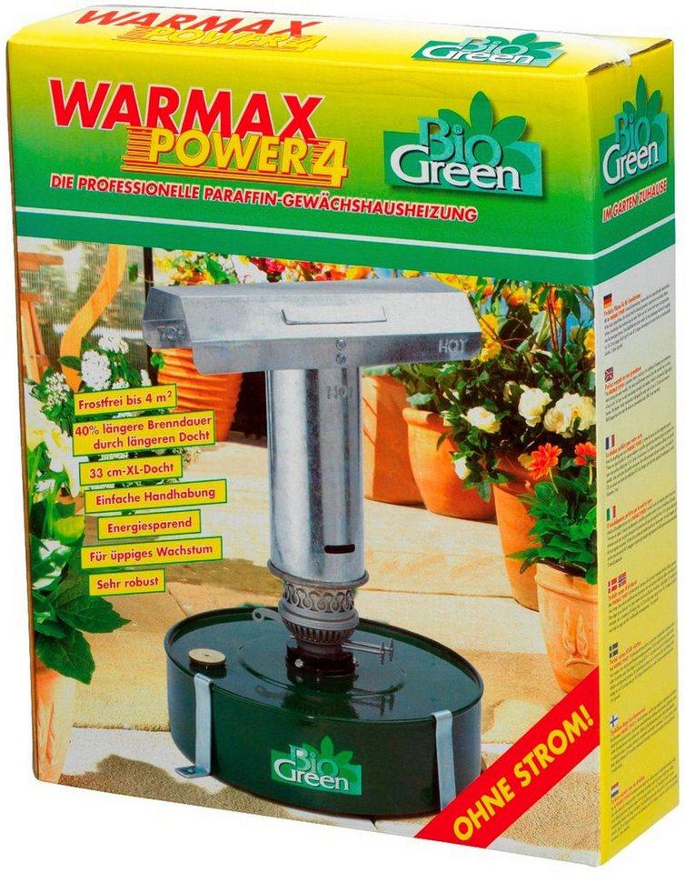 Biogreen Petroleumheizung »Warmax Power 4«, für Gewächshäuser bis 4 m² in silberfarben