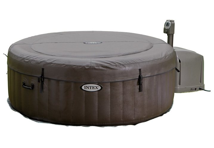 Whirlpool-Set, »PureSpa Jet Massage Round«, Intex in dunkelbraun-beige