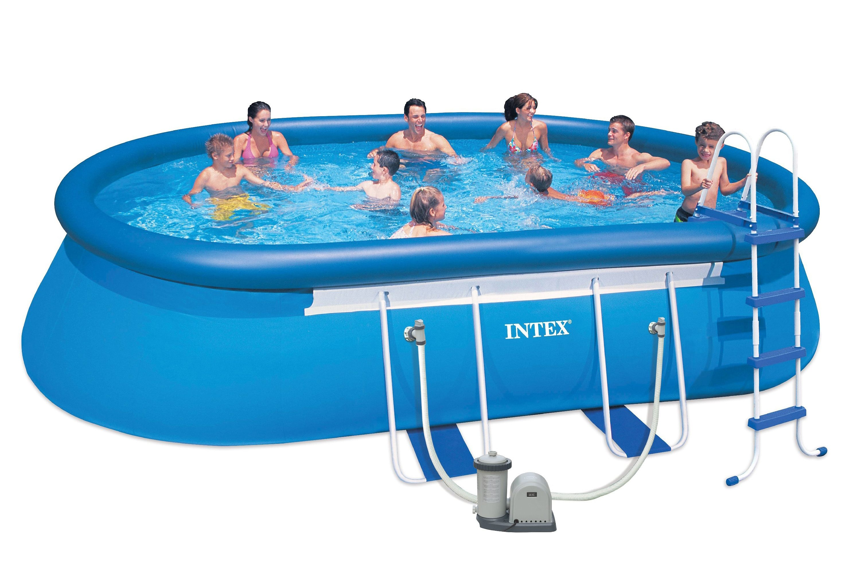 Pool-Set, »Oval Frame Pool Set-Komplettset«, Intex