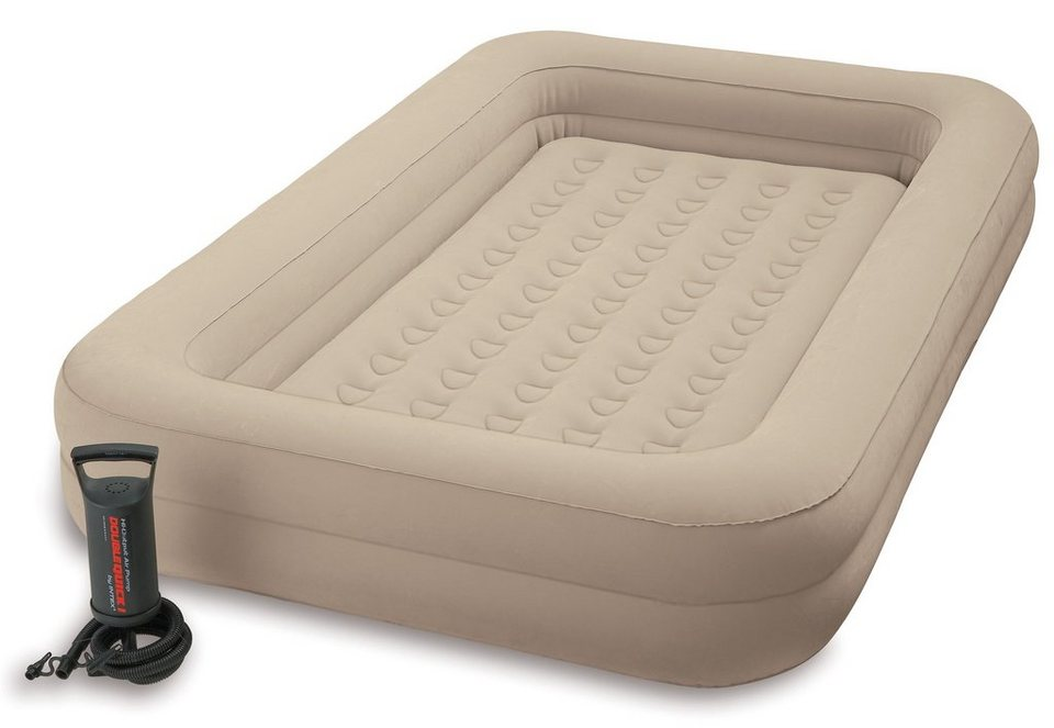 Luftbett, inkl. Luftpumpe, »Kidz Travel Bed Set«, Intex in beige