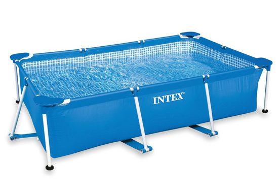 Intex Pool »Metal Frame Pool Rectangular«
