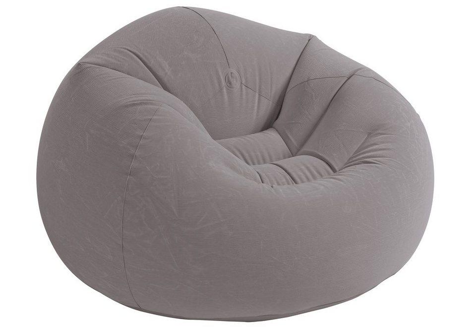 Sessel aufblasbar beanless bag chair intex otto for Sessel aufblasbar