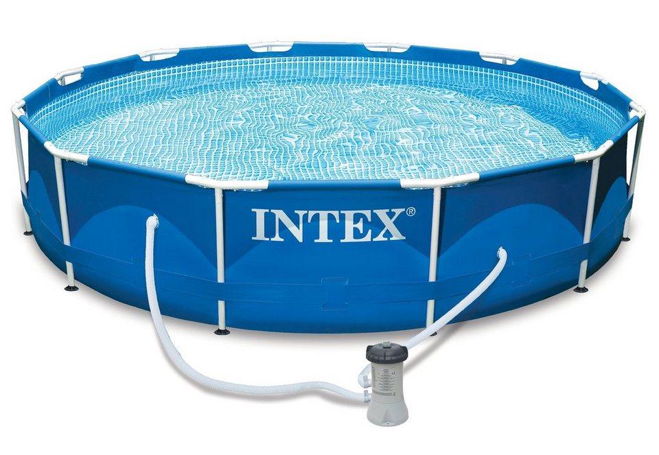 Pool-Set, »Metal Frame Pool-Set Rondo«, Intex | OTTO