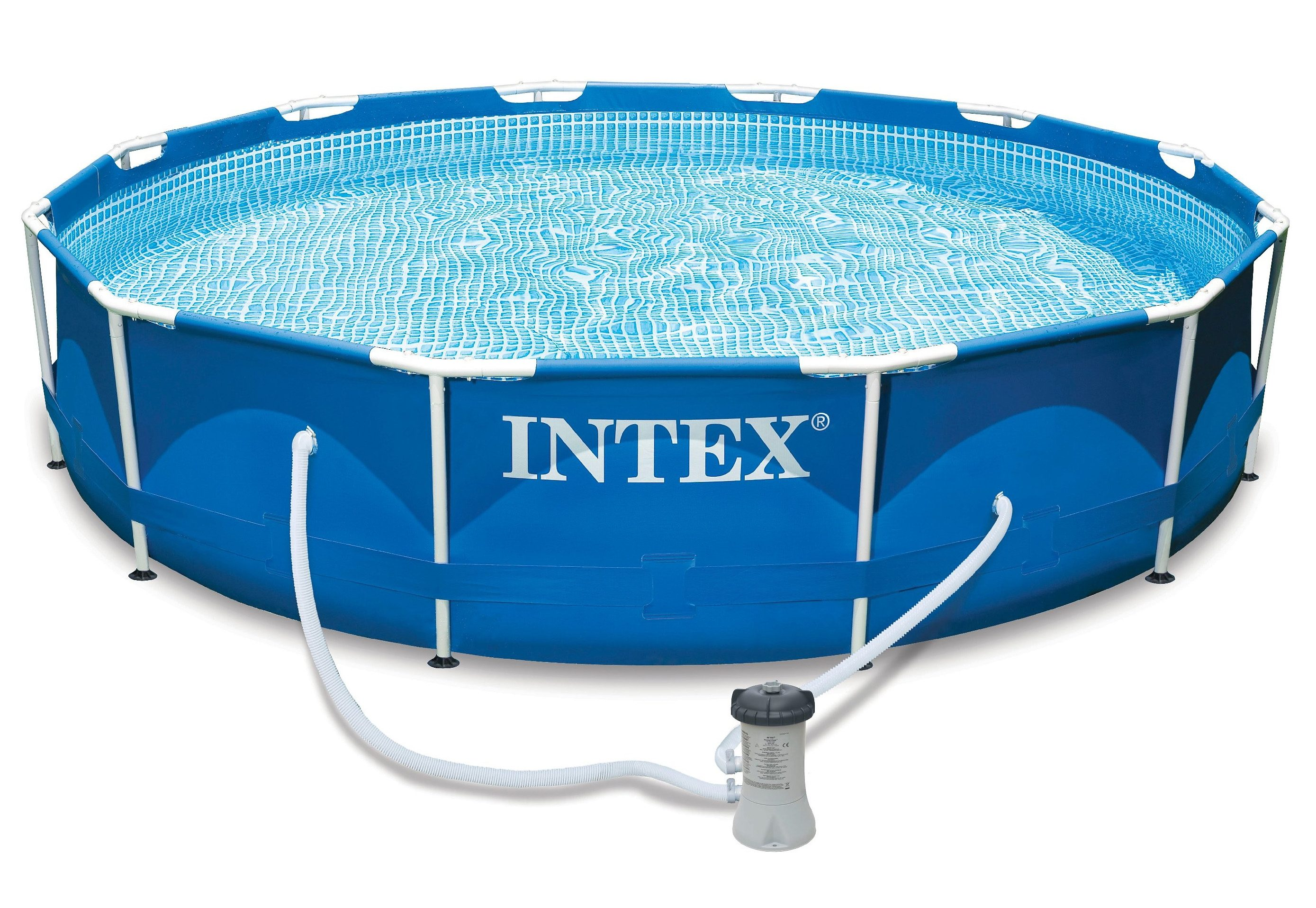 Pool-Set, »Metal Frame Pool-Set Rondo«, Intex