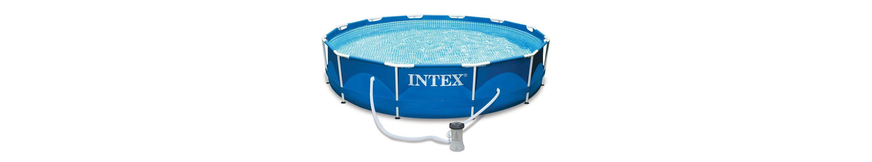 Pool-Set, »Metal Frame Pool-Set Rondo«, Intex