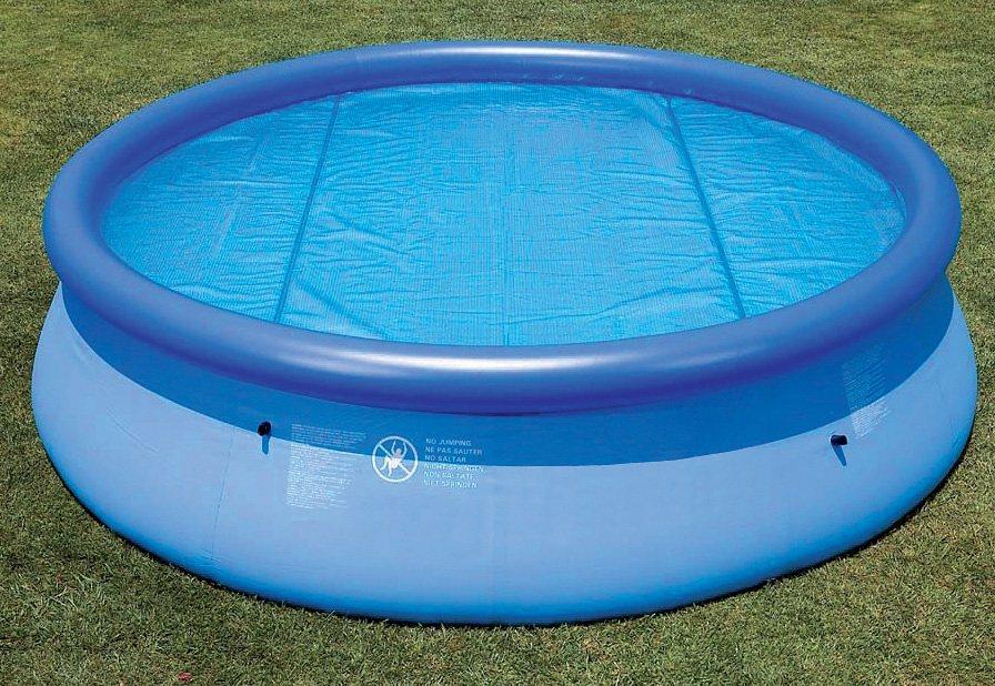 Solarabdeckplane f r easy frame pool solar pool cover for Pool baumarkt