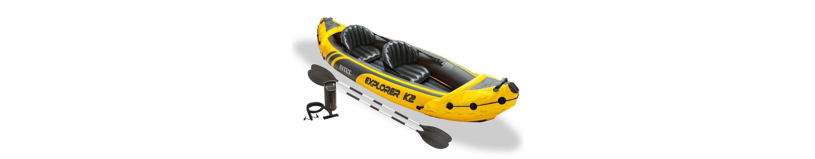 Kajak, »Explorer K2 Set«, Intex