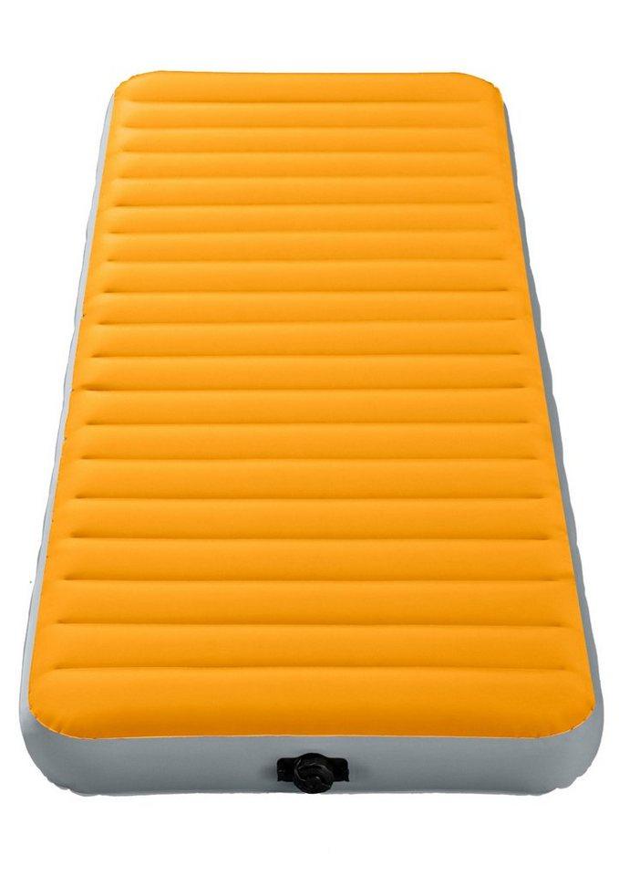 Luftbett, mit integr. Batterieluftpumpe, »Twin Super-Tough Airbed«, Intex in orange