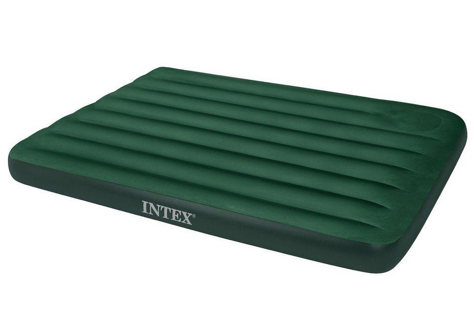 Luftbett, inkl. eingebauter Fußpumpe , »Downy Bed«, Intex in grün