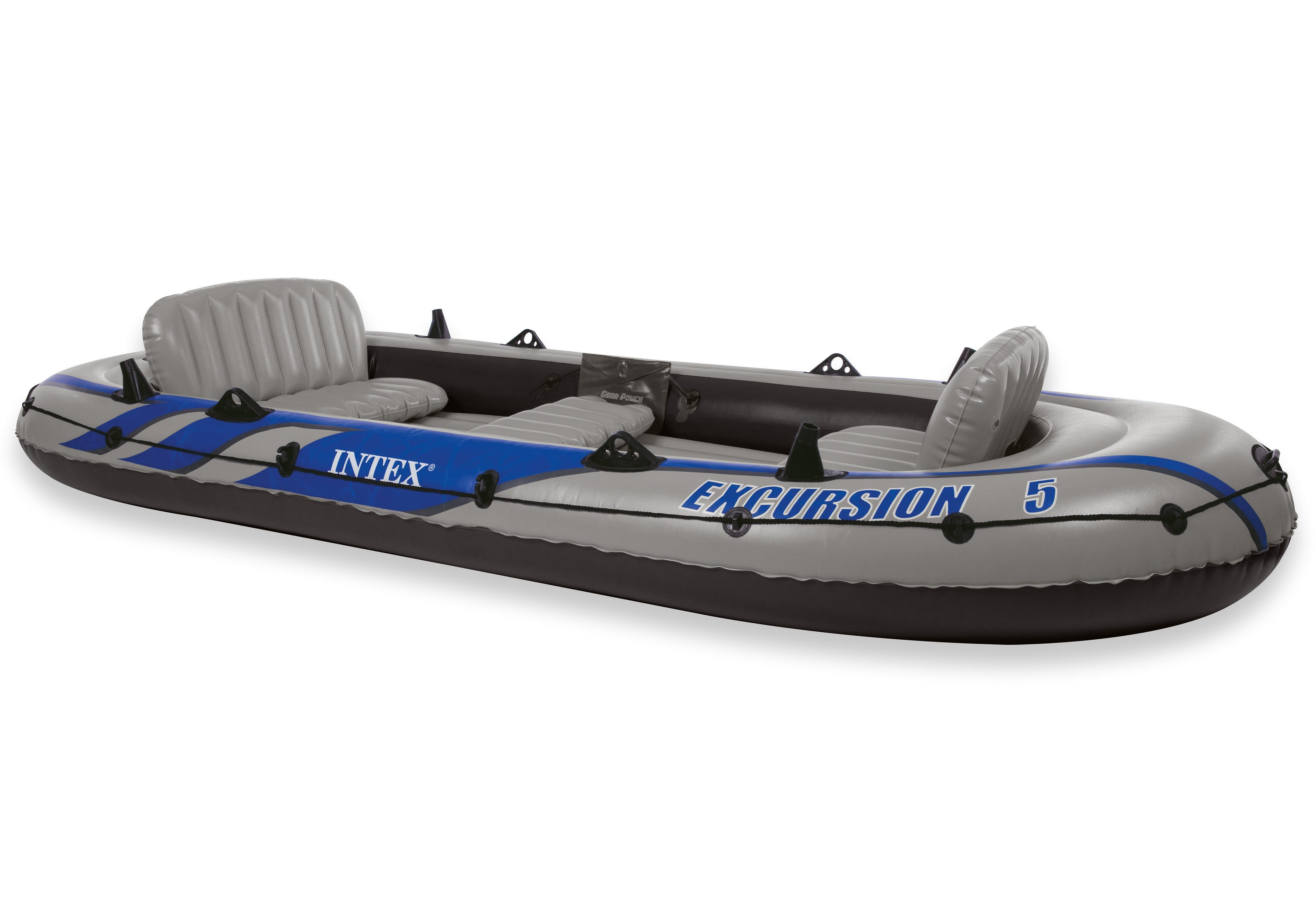 Sportboot-Set, mit 2 Paddeln und Luftpumpe, »Boot-Set Excursion 5«, Intex