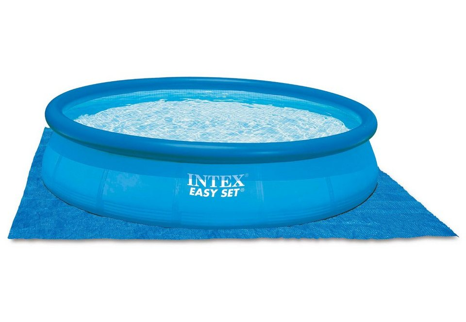Bodenschutzplane, »Pool Ground Clouth«, Intex in blau