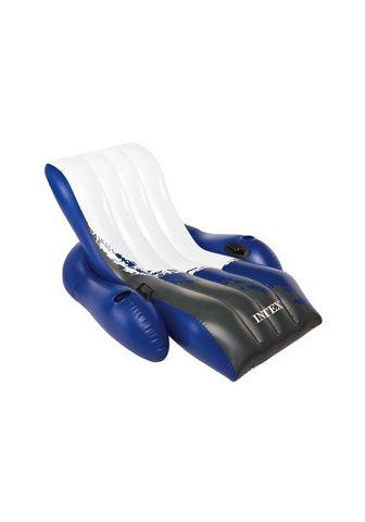 Надувное кресло плавающий шезлонг отды...