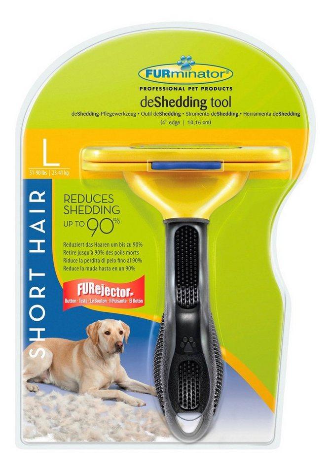 Hundepflegebürste »FURminator deShedding Werkzeug Kurzhaar L« in gelb
