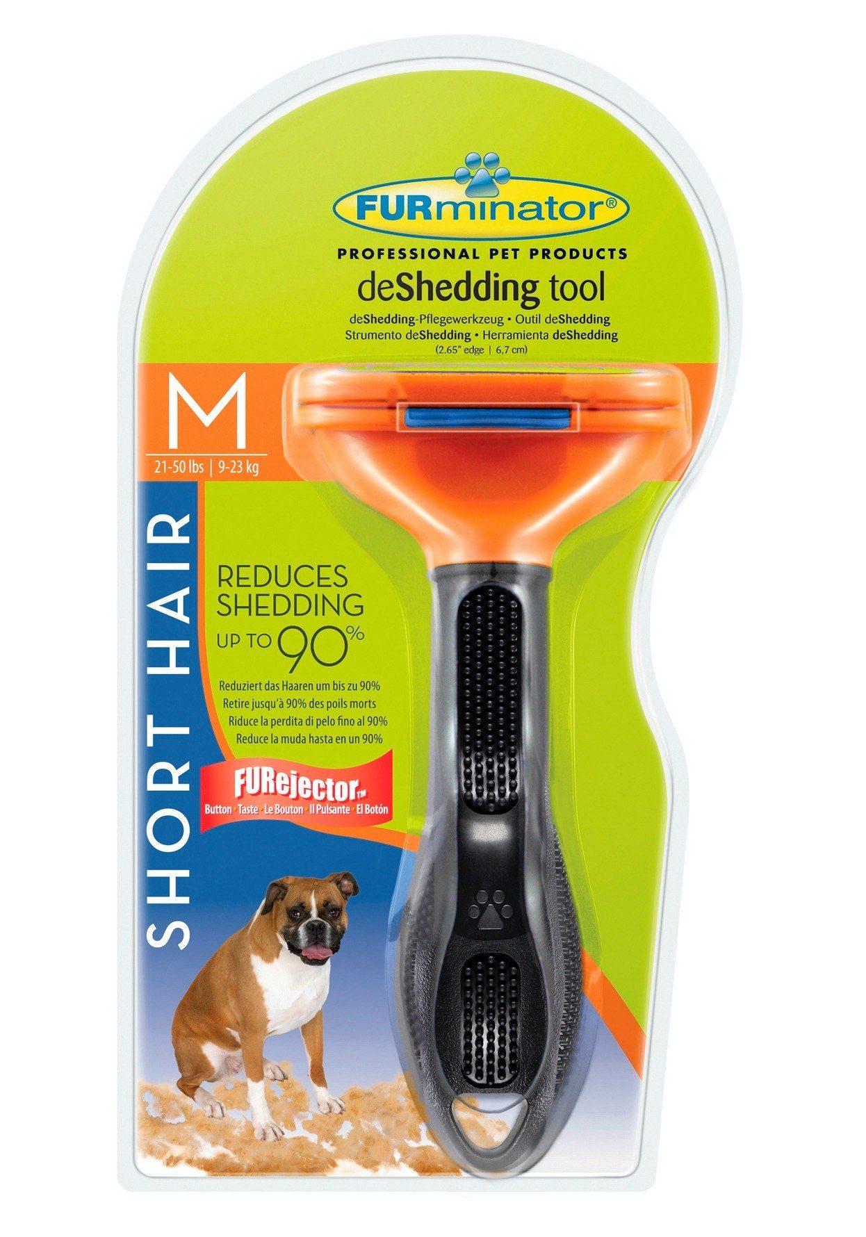Hunde-Pflegebürste »FURminator deShedding Kurzhaar M«