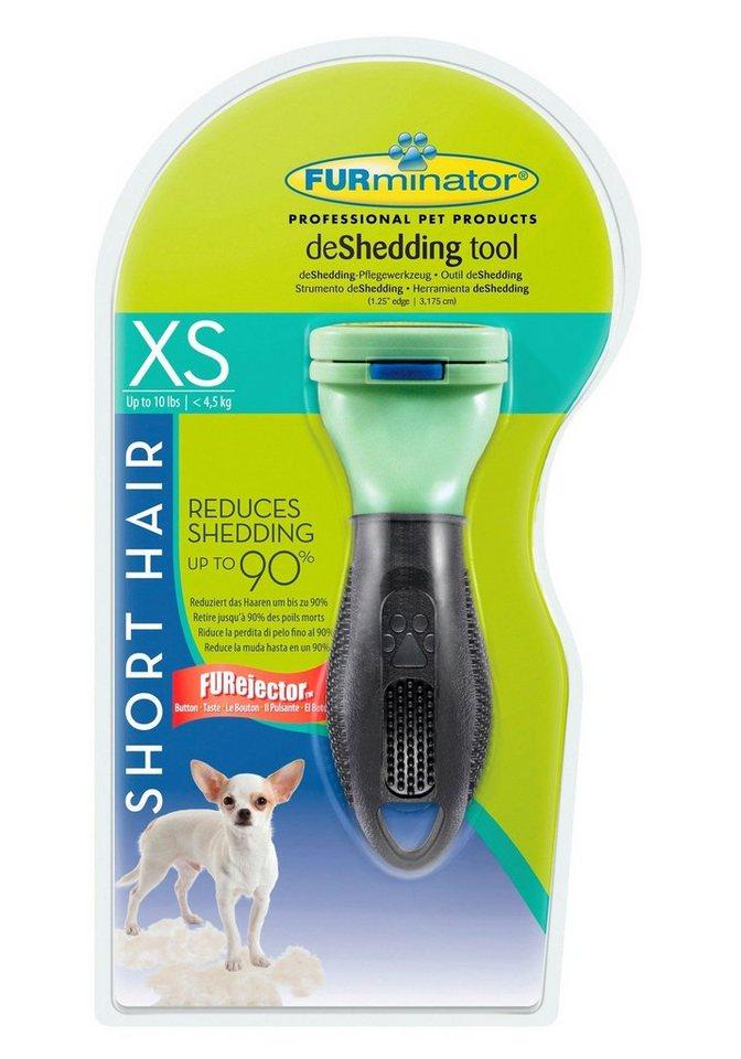 Hundepflegebürste »FURminator deShedding Kurzhaar XS« in minzefarben