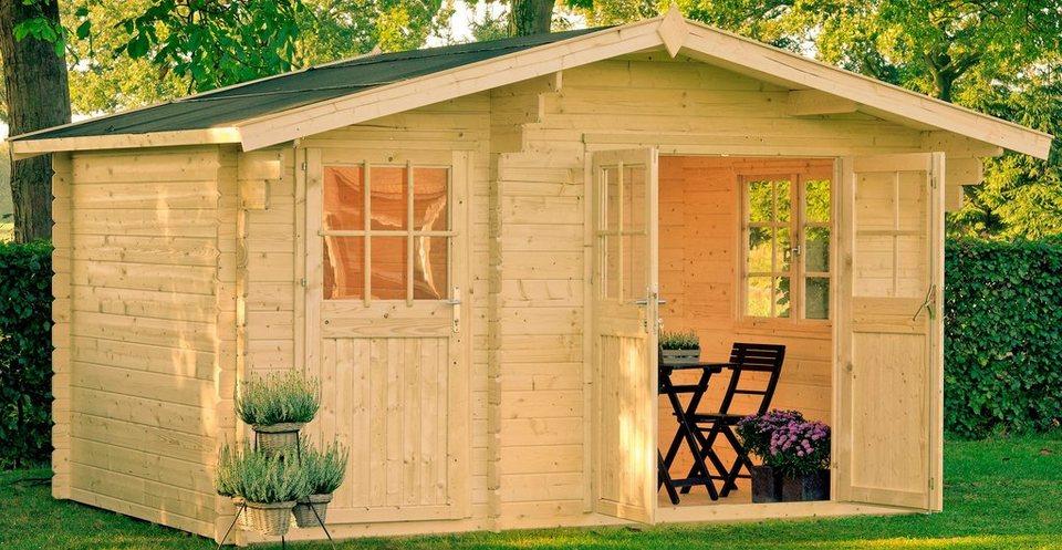 Gartenhaus »Belmont 1«, BxT: 380x250 cm in natur