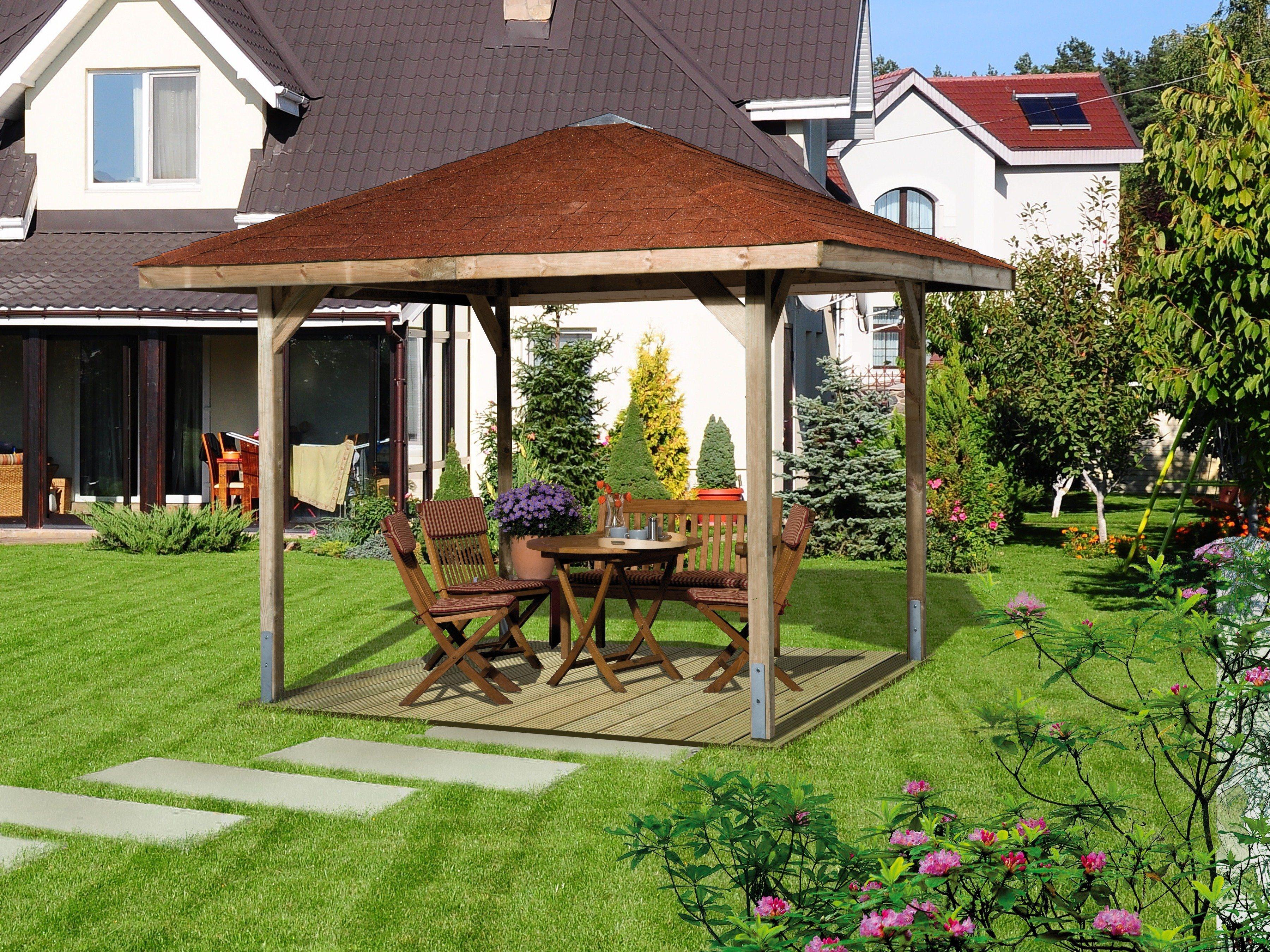 Weka Pavillon-Set »Paradies 1« 3-tlg. Set   Garten > Pavillons   weka