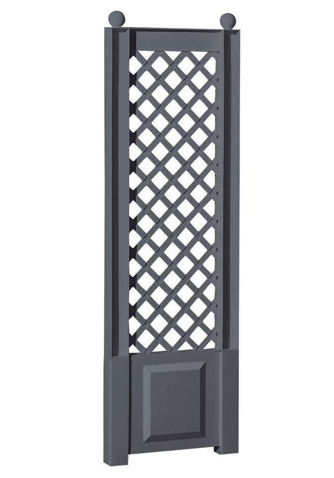 Spalier »43x140 cm, anthrazit« in grau