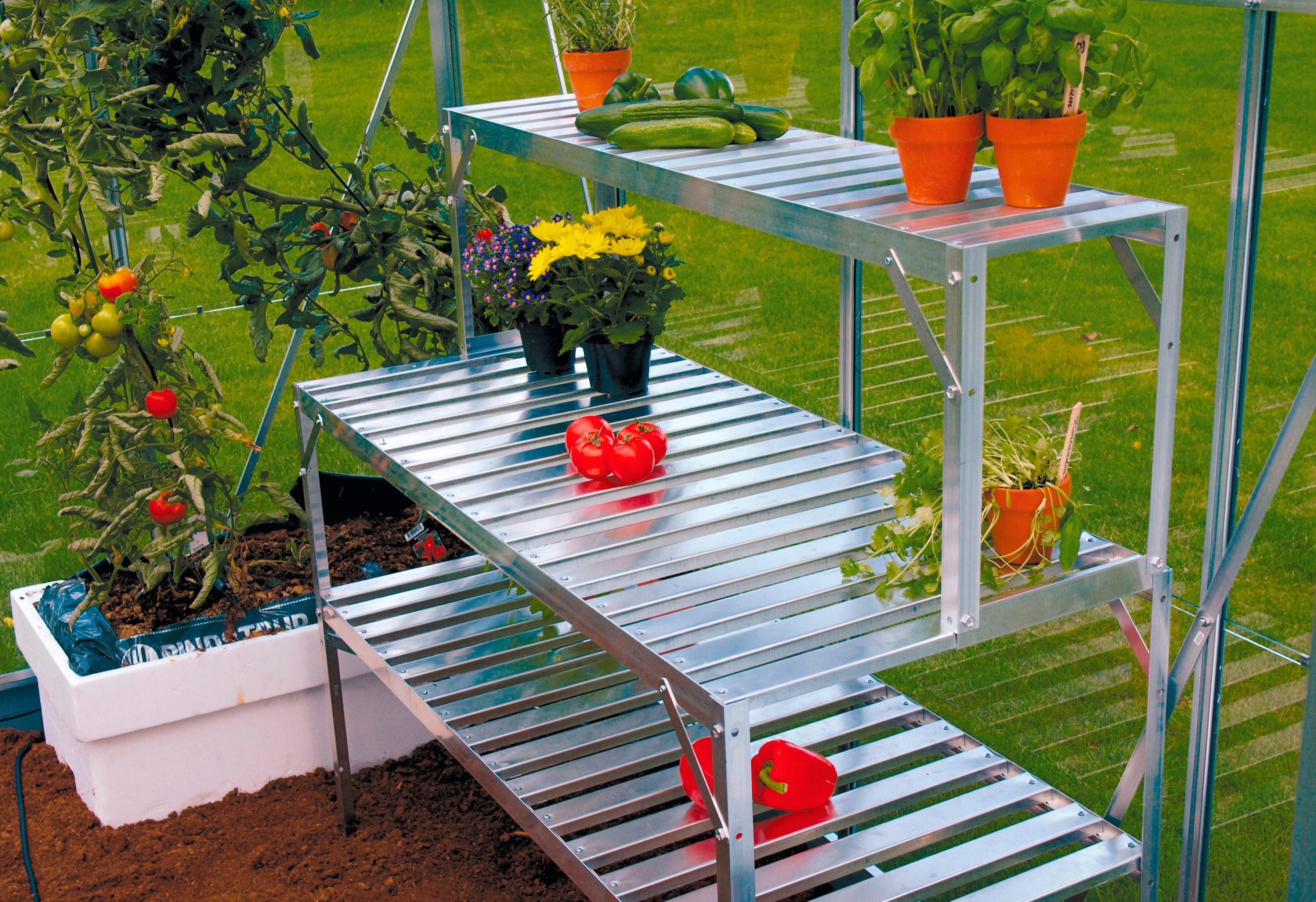 VITAVIA Tischaufsatz , BxTxH: 121x28x39 cm, aluminiumfarben
