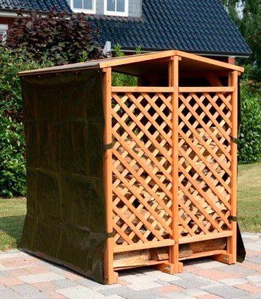 promadino kaminholzregal b t h 120 118 148 cm. Black Bedroom Furniture Sets. Home Design Ideas