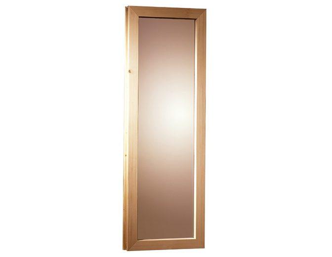 Saunafenster, für 40 mm Sauna, BxH: 42x122 cm