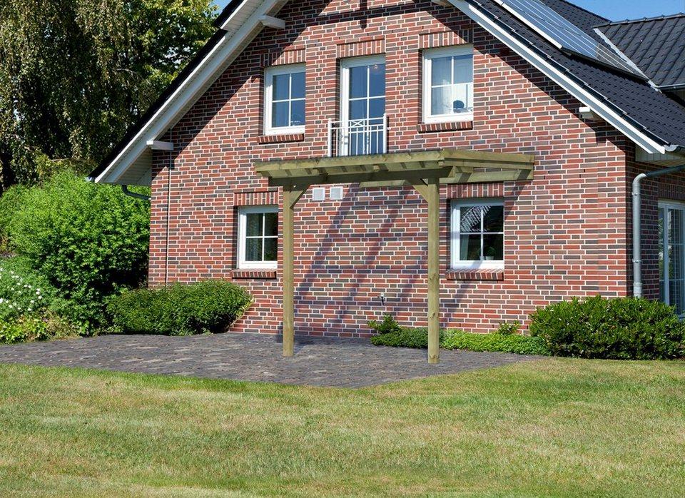 Terrassendach »Eco Gr. A«, B: 244 cm, 3 verschiedene Tiefen in natur