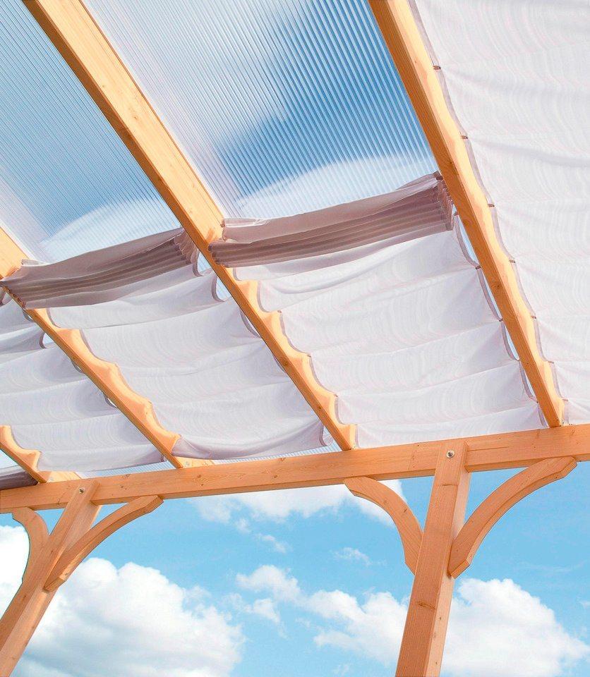 Sonnensegel »244 x 235 cm mit 3 Feldern« in weiß