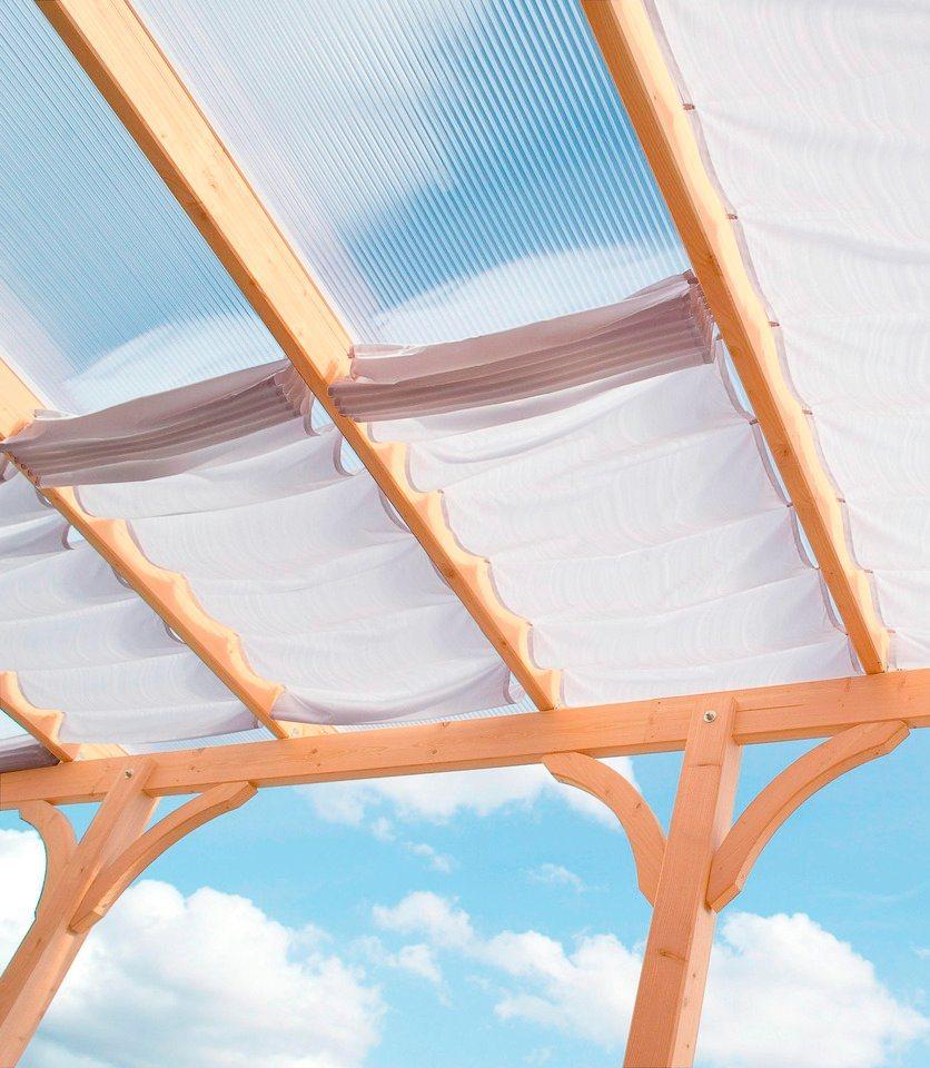 Sonnensegel »622 x 240 cm mit 9 Feldern« in weiß