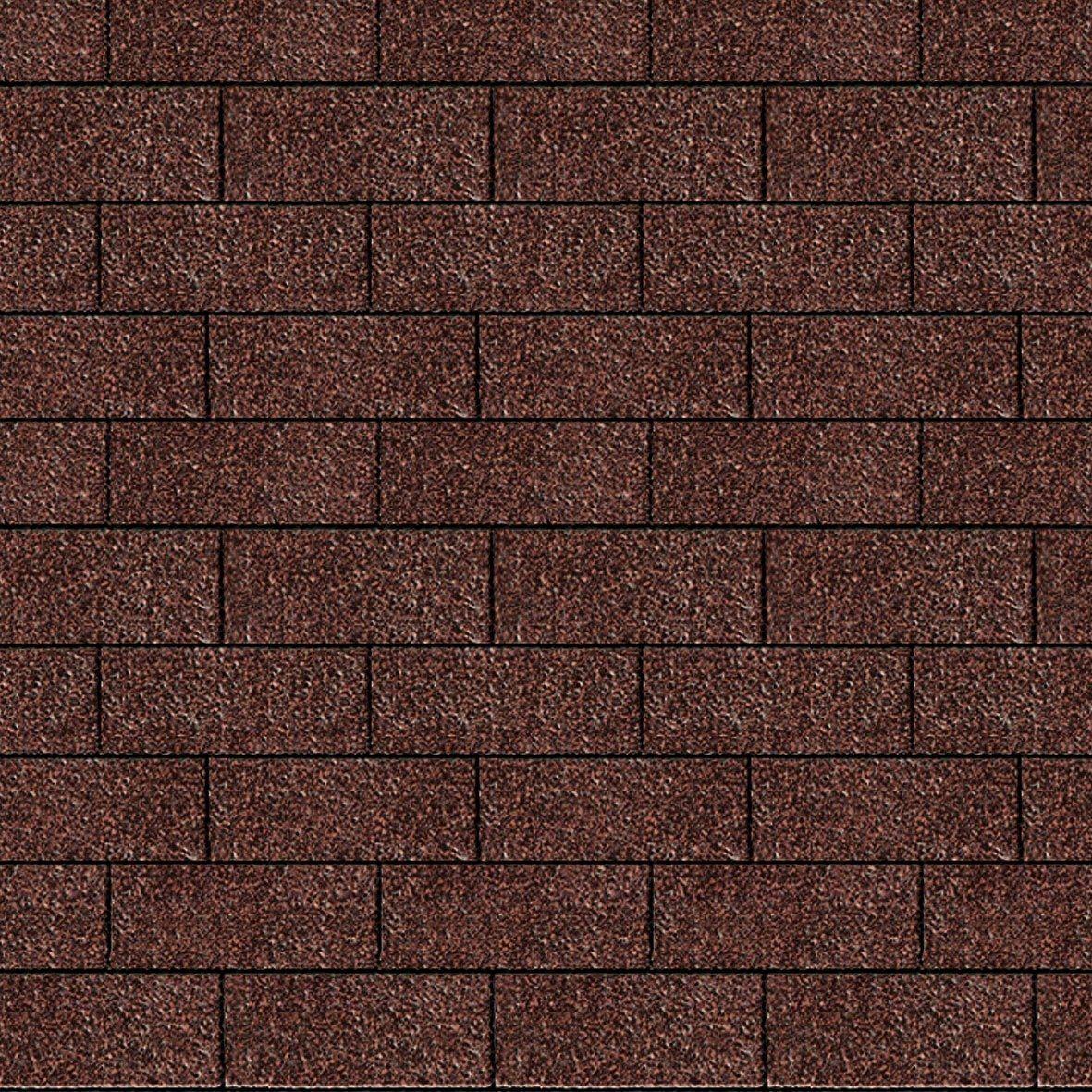 Rechteck-Dachschindeln, rot