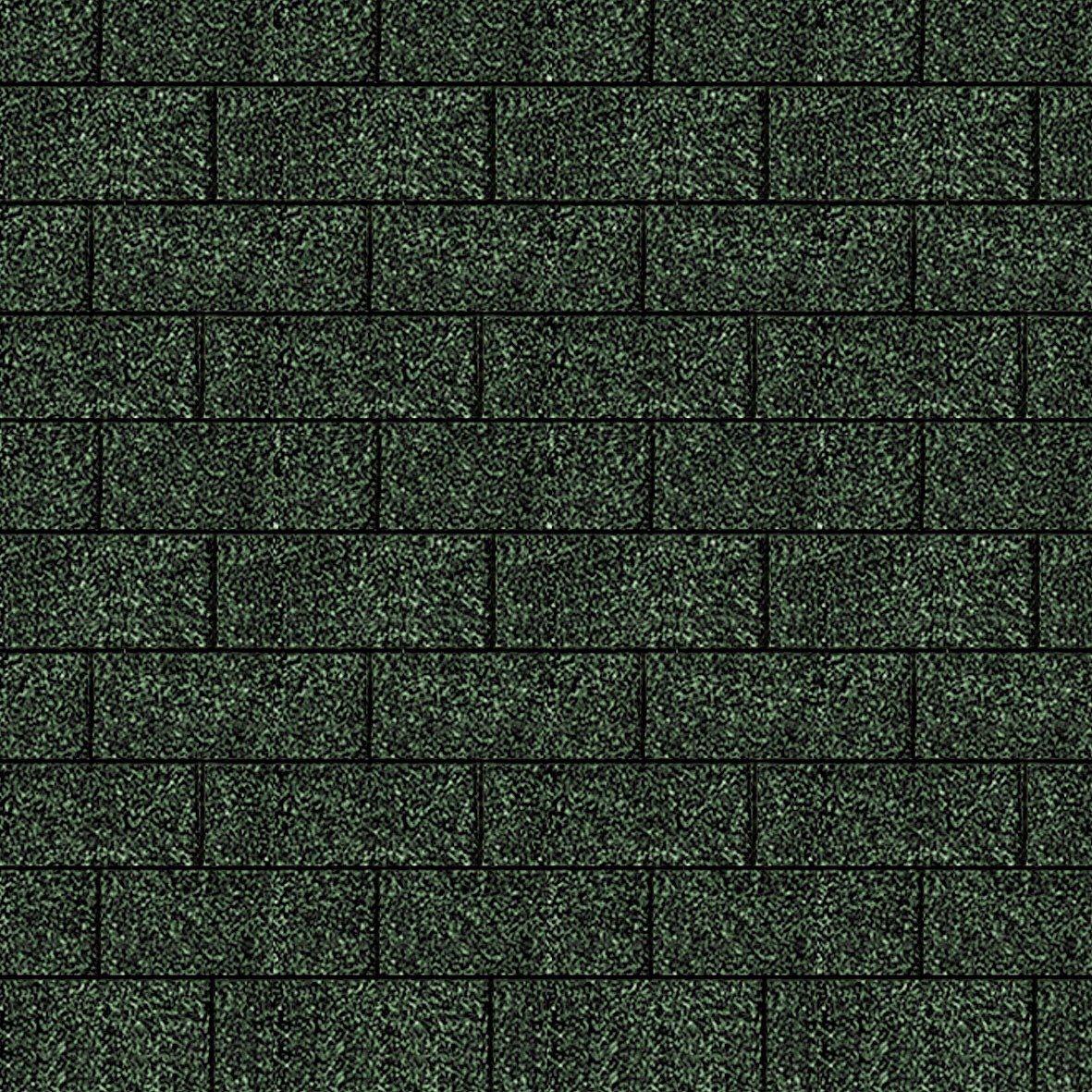 Rechteck-Dachschindeln, grün