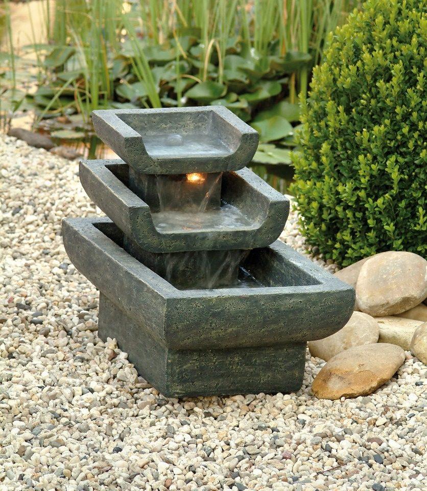 Ubbink Set: Gartenbrunnen »Tokyo« (6-tlg.)