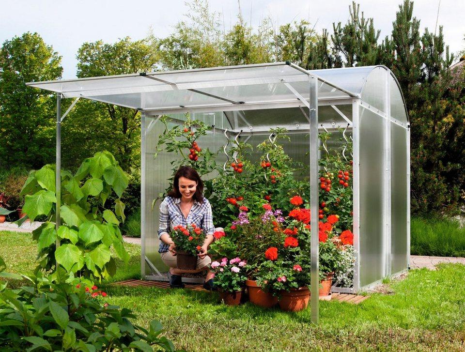 BECKMANN Aufstellrahmen , Erweiterung für Tomaten-Gewächshaus »GB 2« / »GB 3« in silberfarben