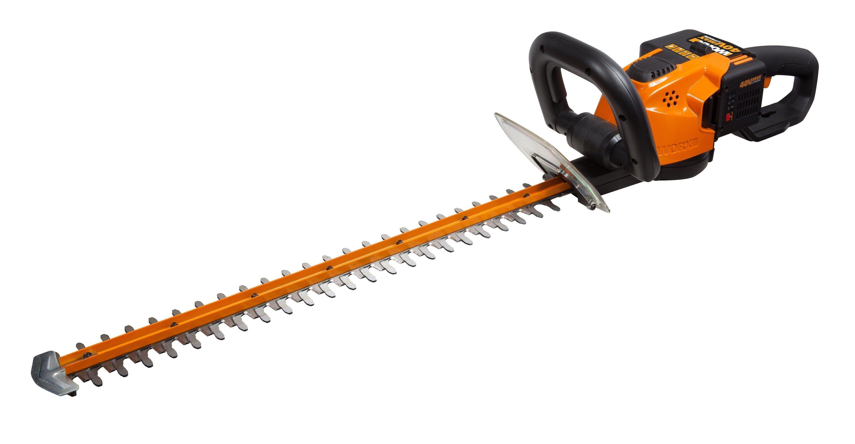 Worx Akku-Heckenschere »WG 268 E«, Schnittlänge: 56 cm