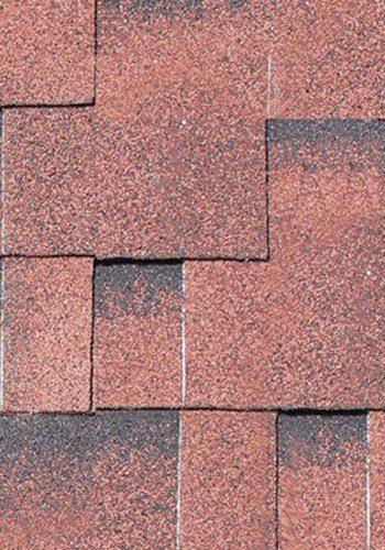 Asymmetrische Dachschindeln