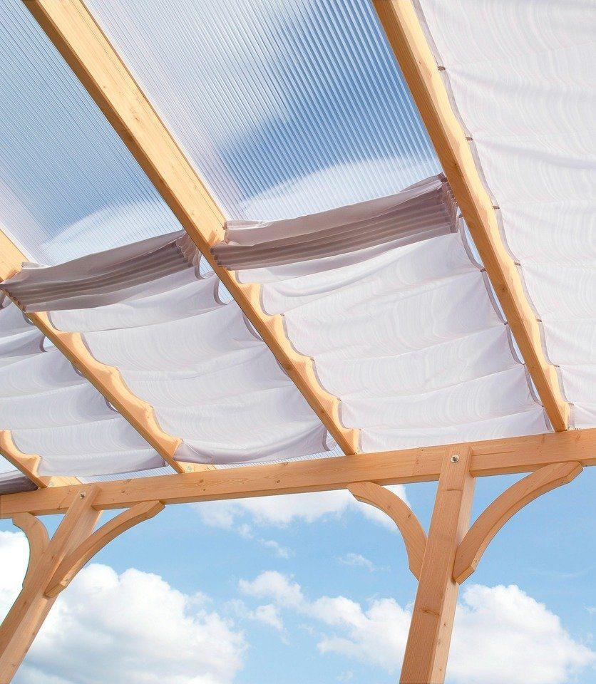 Sonnensegel »310 x 250 cm mit 3 Feldern« in weiß