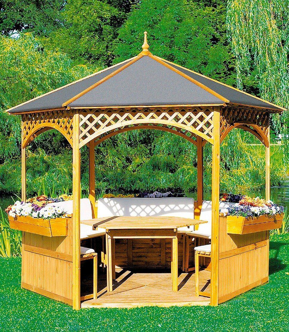 Promadino Holzpavillon »Palma«