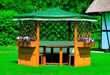 Promadino Holzpavillon »Marburg«