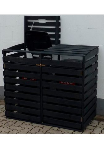 PROMADINO Dėžė šiukšlių konteineriams dėl 2x120 ...
