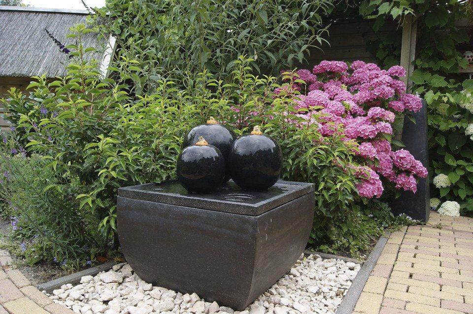 Ubbink Set: Gartenbrunnen »Cordoba« (4-tlg.) in grau