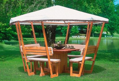 promadino holzpavillon rosenheim online kaufen otto. Black Bedroom Furniture Sets. Home Design Ideas