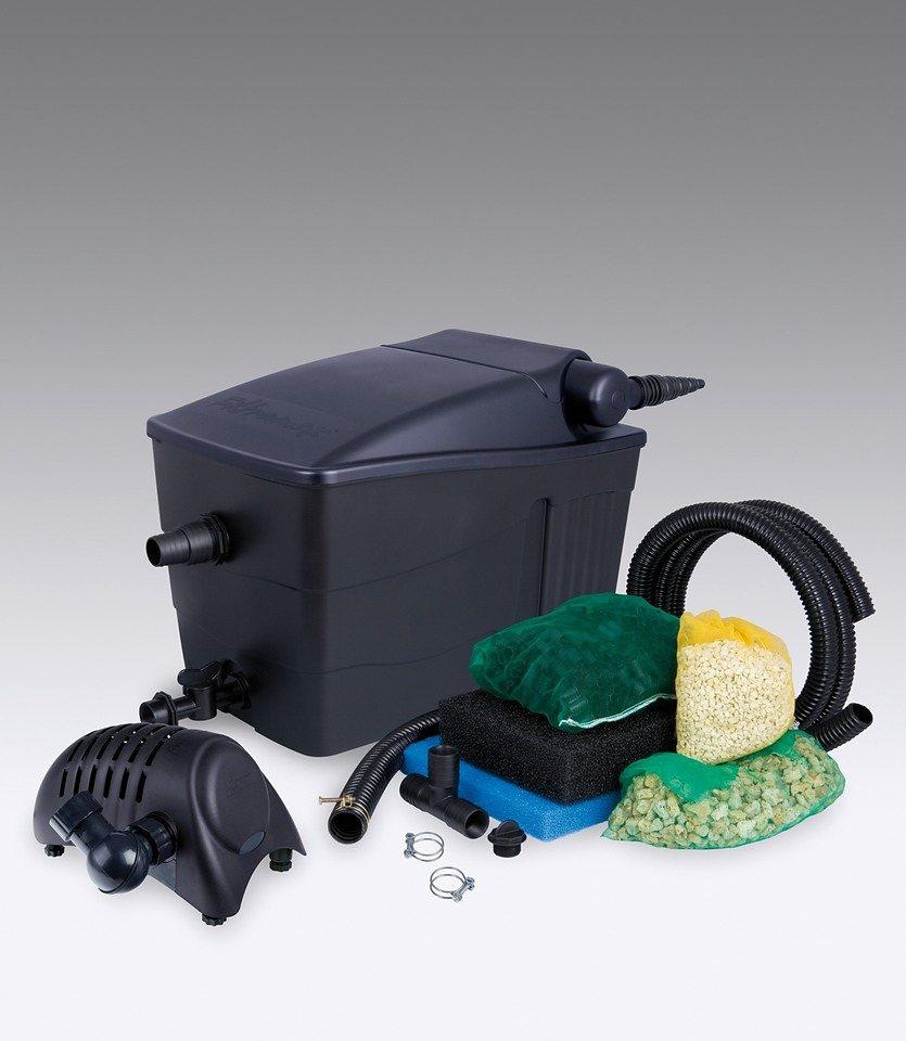 Set: Teichfilter »Filtramax 9000 Plus« in schwarz