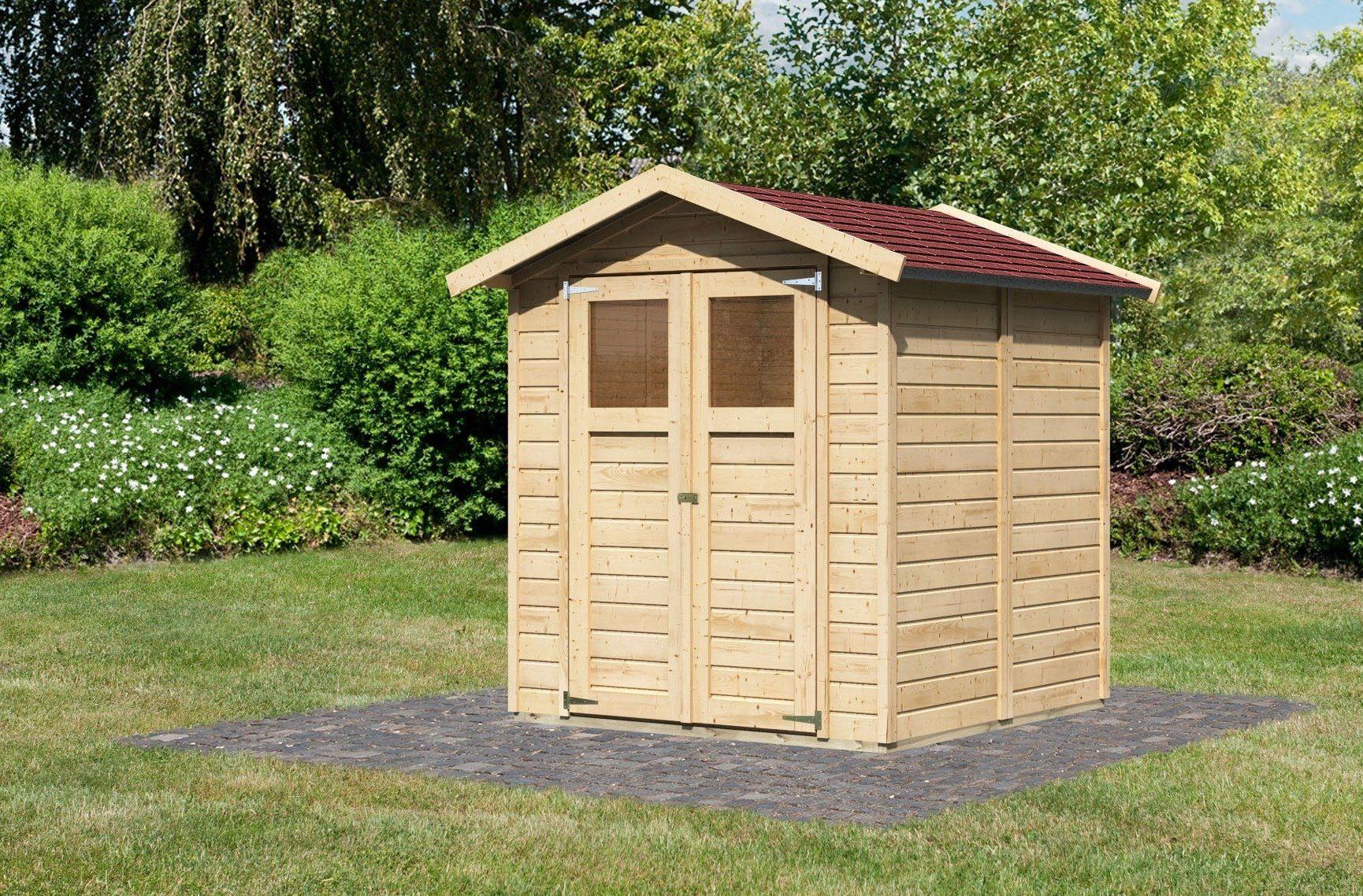 Karibu Set: Gartenhaus »Durin 3«, BxT: 177x181 cm