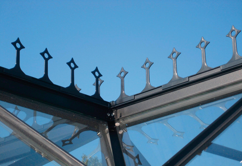 VITAVIA Firstkrone , für Gewächshaus »Sirius«, schwarz | Garten > Gewächshäuser | Vitavia