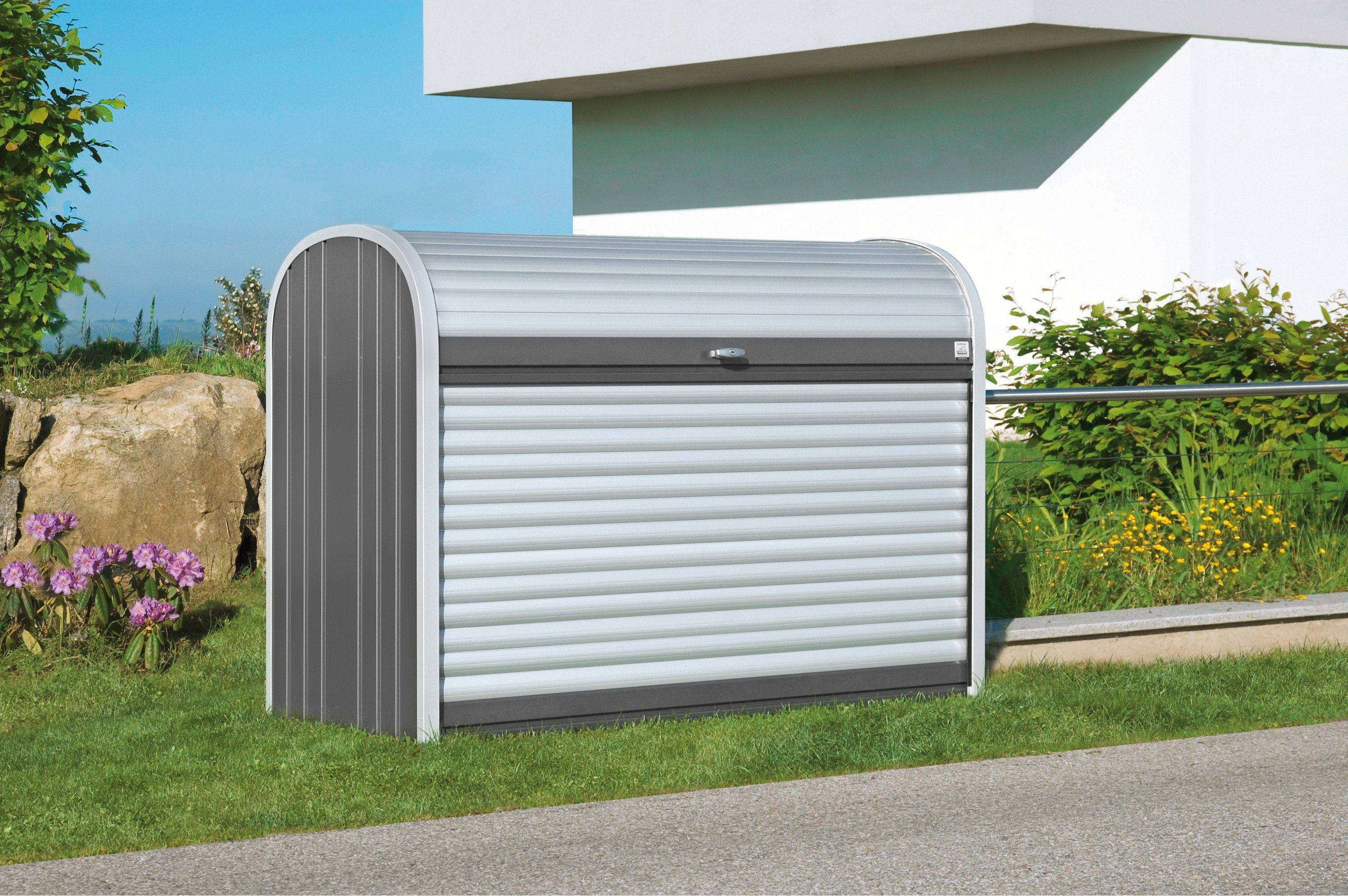 BIOHORT Rollladenbox »StoreMax 190«, B/T/H: 190/97/136 cm