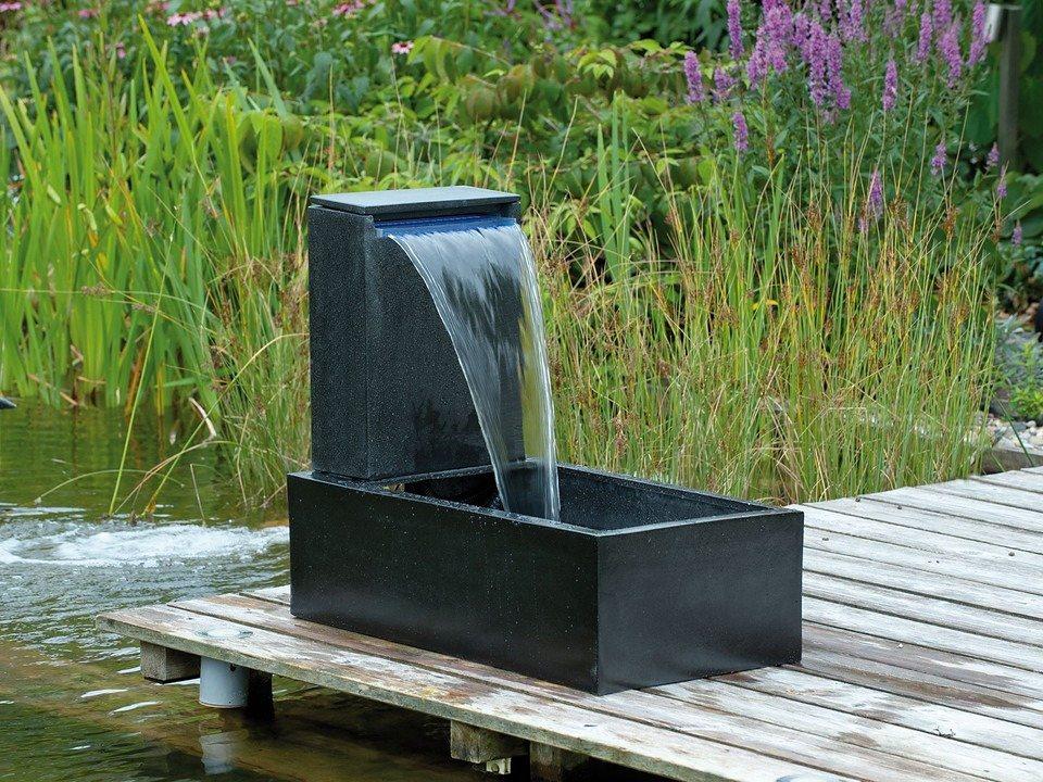 Komplett set gartenbrunnen casale online kaufen otto for Houten vijverbak
